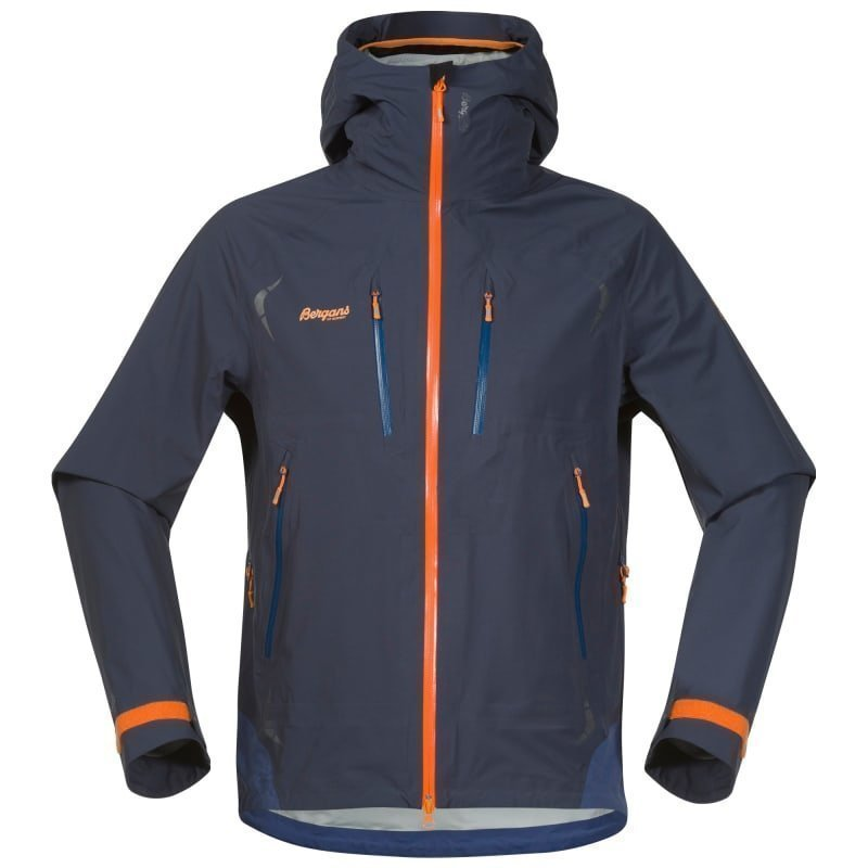Bergans Storen Jacket S Night Blue/Dusty Blue/Pumpkin