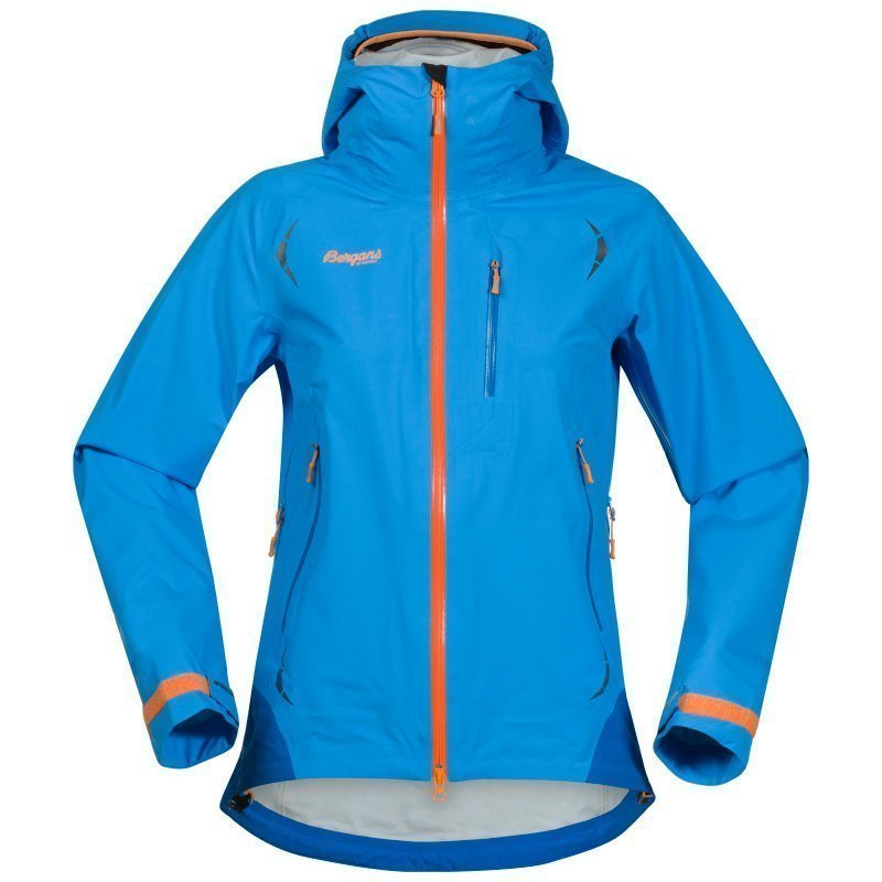 Bergans Storen Lady Jacket XL Lt Wintersky/Athens Blue/Pumpk