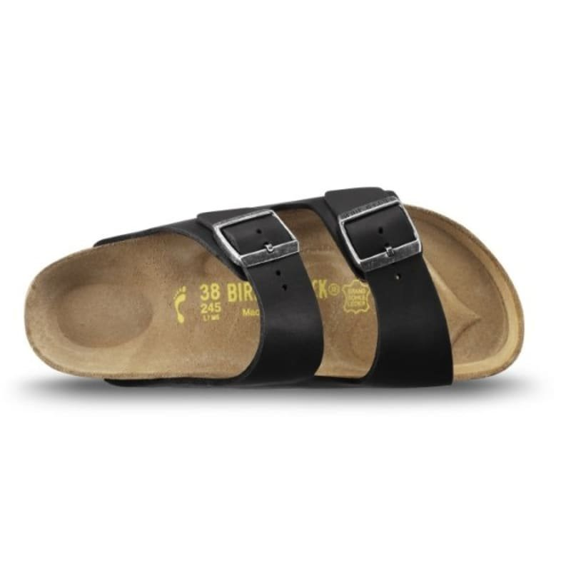 Birkenstock Arizona Habana Slim 41 Black oiled