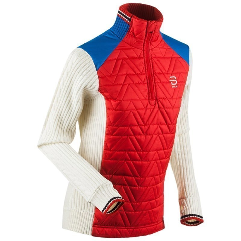 Bjørn Dæhlie Half Zip Comfy Wmn M High Risk Red