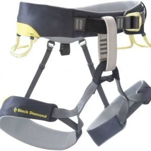Black Diamond Chaos Harness musta/harmaa L