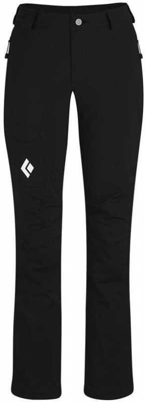 Black Diamond Dawn Patrol LT Pants Women Musta XL