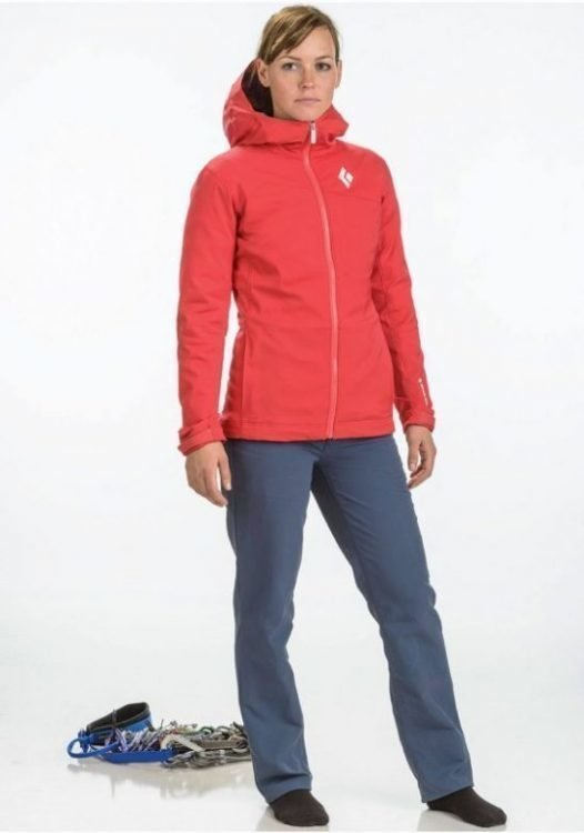 Black Diamond Dawn Patrol LT Shell Women Punainen L