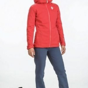 Black Diamond Dawn Patrol LT Shell Women Punainen M