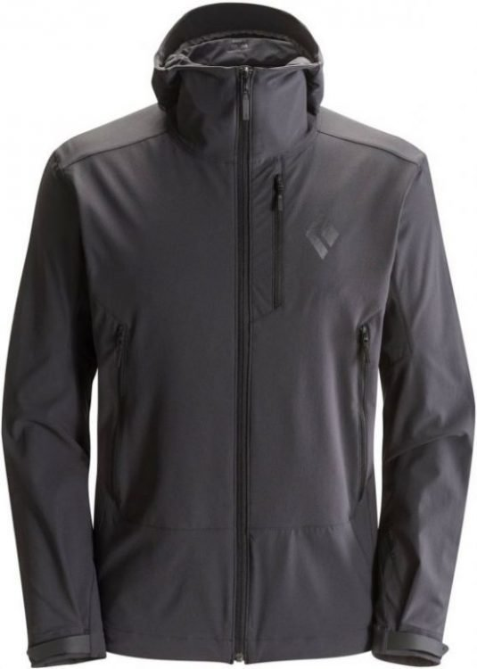 Black Diamond Dawn Patrol Shell Dark grey XL
