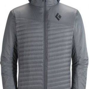 Black Diamond Hot Forge Hybrid Hoody Vaaleanharmaa M
