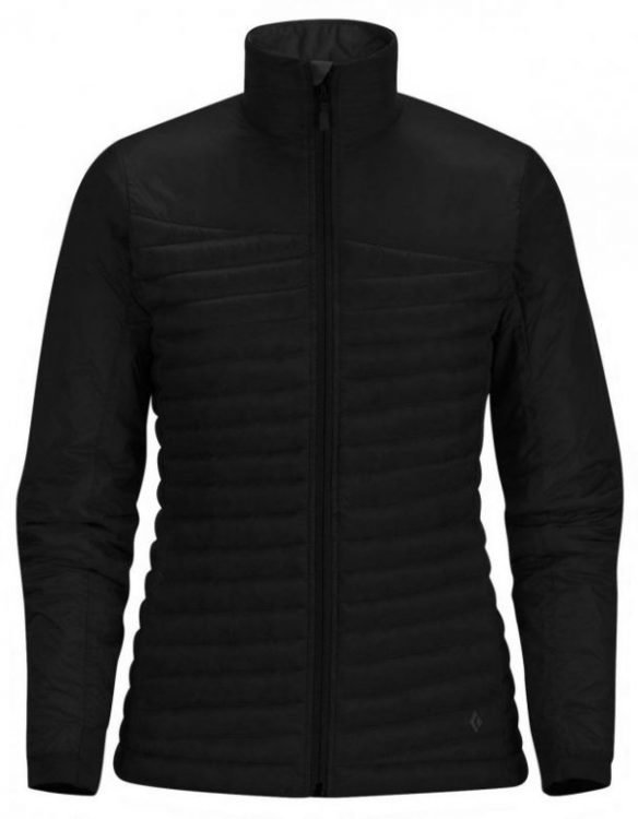 Black Diamond Hot Forge Hybrid Hoody Women's Musta XS