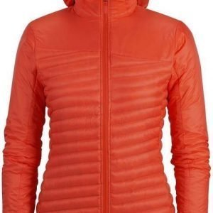 Black Diamond Hot Forge Hybrid Hoody Women's Punainen M