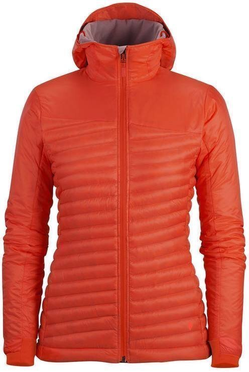 Black Diamond Hot Forge Hybrid Hoody Women's Punainen S