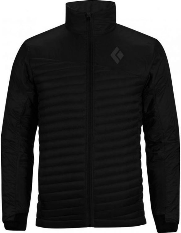 Black Diamond Hot Forge Hybrid Jacket Musta L