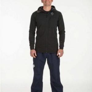 Black Diamond Liquid Point Pants Tummansininen XL