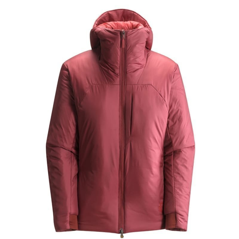 Black Diamond Stance Belay Parka Women's L Maroon