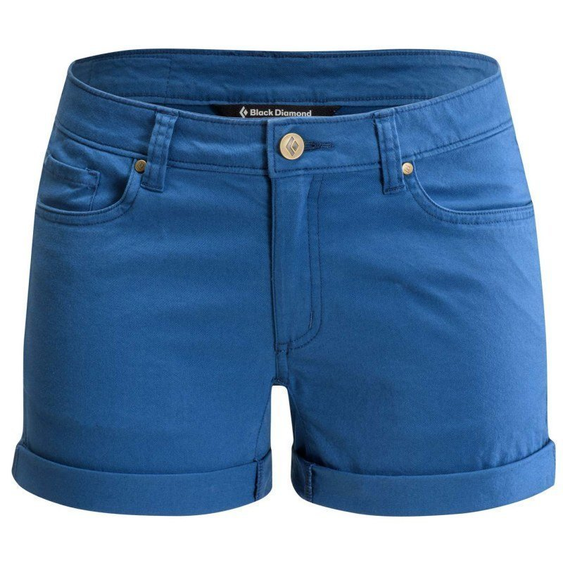 Black Diamond Stretch Font Shorts Women's