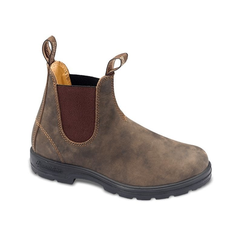 Blundstone Casual Chelsea Boots 46 Rustic Brown