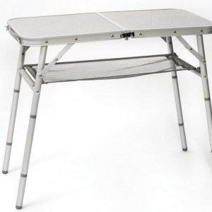 Bo-Camp Alumiini sivupöytä säädettävällä korkeudella