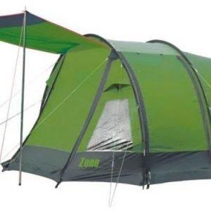 Bo-Camp Zone Teltta neljälle vihreä/harmaa