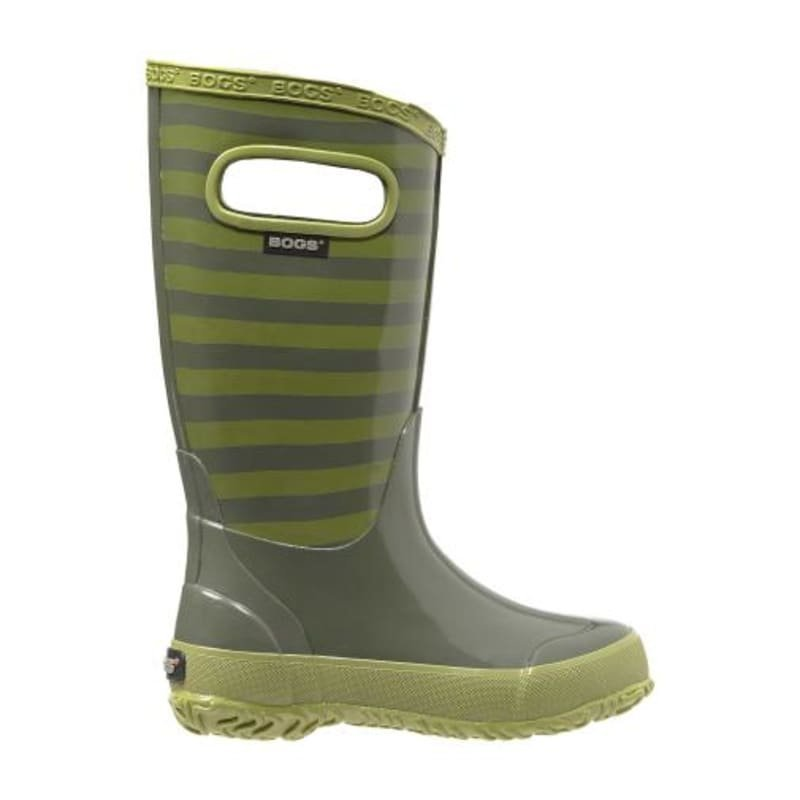 Bogs Rainboot Kids Stripe 25 Olive