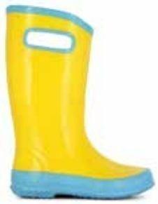 Bogs Rainboot lasten kumisaappaat keltainen 30