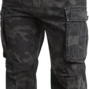 Brandit Industry 3/4 shortsit Dark Camo