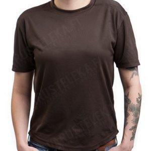 Brittiläinen Undergarment Body Armour ruskea ylijäämä tyttökuvalla
