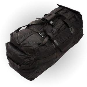 Brittiläinen keikkalaukku 100 l musta ylijäämä