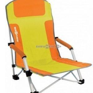 Brunner Bula beach matala rantatuoli oranssi