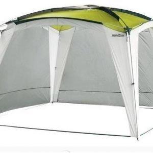 Brunner Medusa II Pavilion aurinkokatos vihreä 4x4m