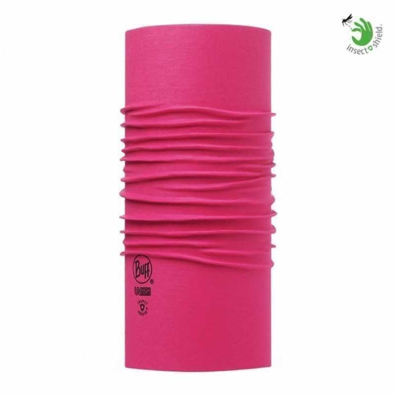 Buff Insect Shield Solid fuchsia