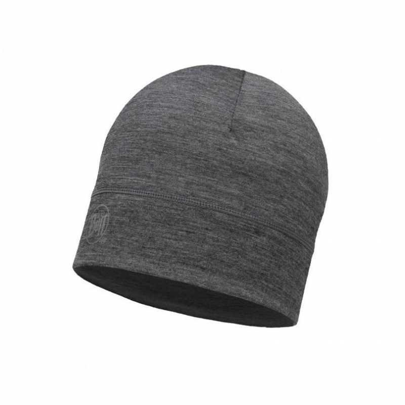 Buff Merino Hat Grey