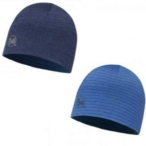 Buff Merino Reversible Hat Denim