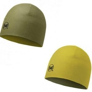 Buff Merino Reversible Hat Light Military