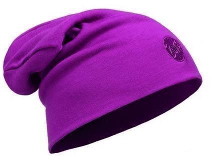 Buff Merino Thermal Hat Cerise
