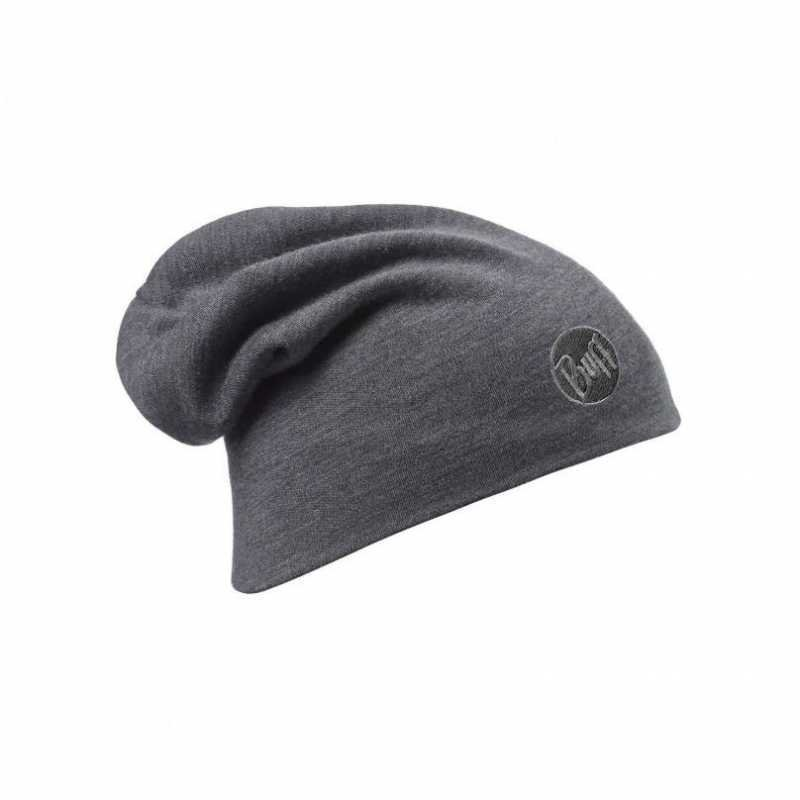Buff Merino Thermal Hat Harmaa