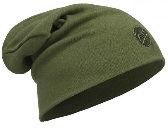 Buff Merino Thermal Hat Vihreä