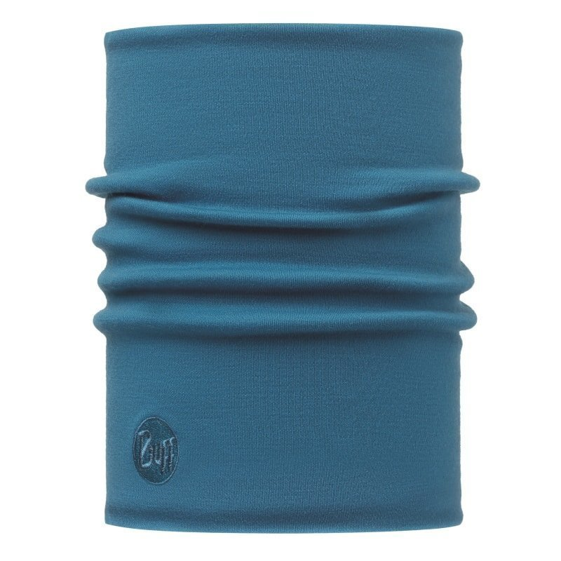 Buff Merino Wool Thermal Buff 1SIZE Solid Ocean
