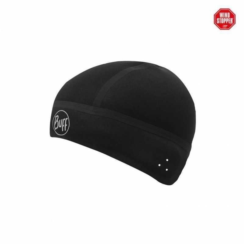 Buff Windproof Hat Black M/L