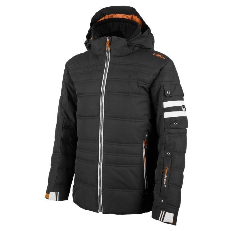CMP Boy Champoluc Ski Jacket 128 Nero