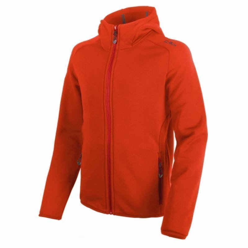 CMP Boy Moena Fleece Hood 128 Bitter