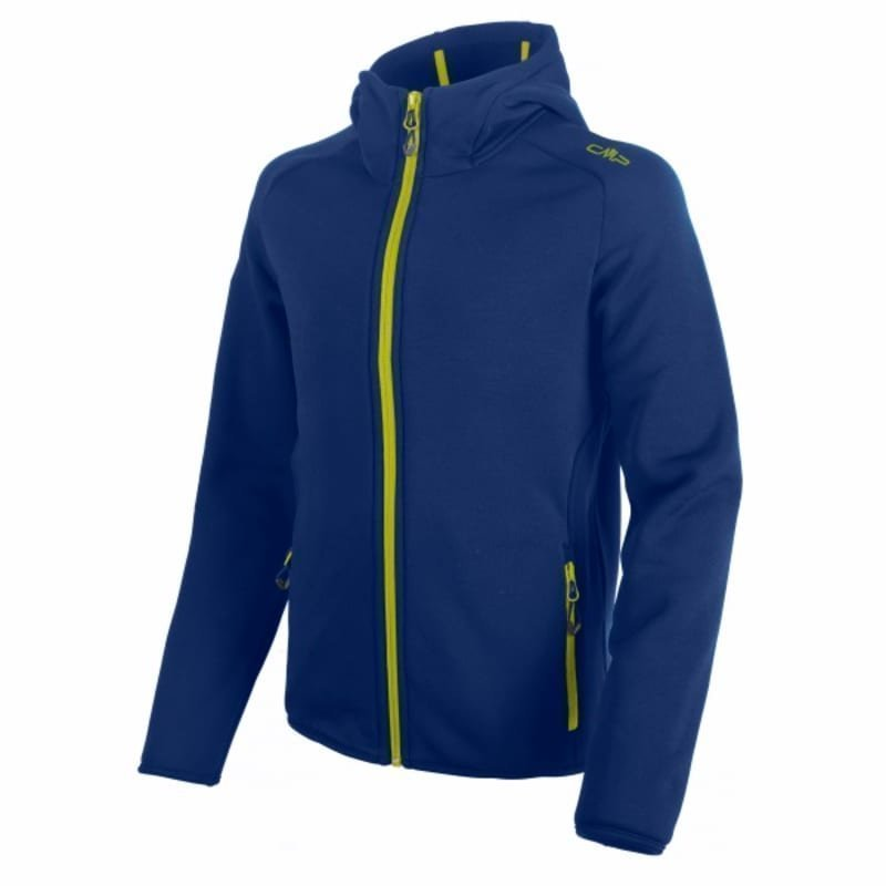 CMP Boy Moena Fleece Hood 140 Nautico