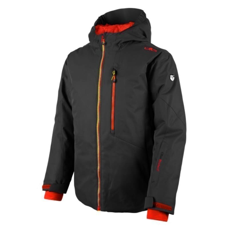 CMP Boy Val Di Fiemme Ski Jacket 128 Nero