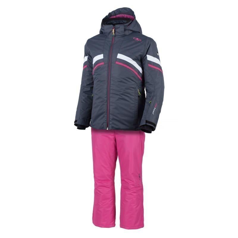CMP Girl Canazei Ski Set 128 Asphalt