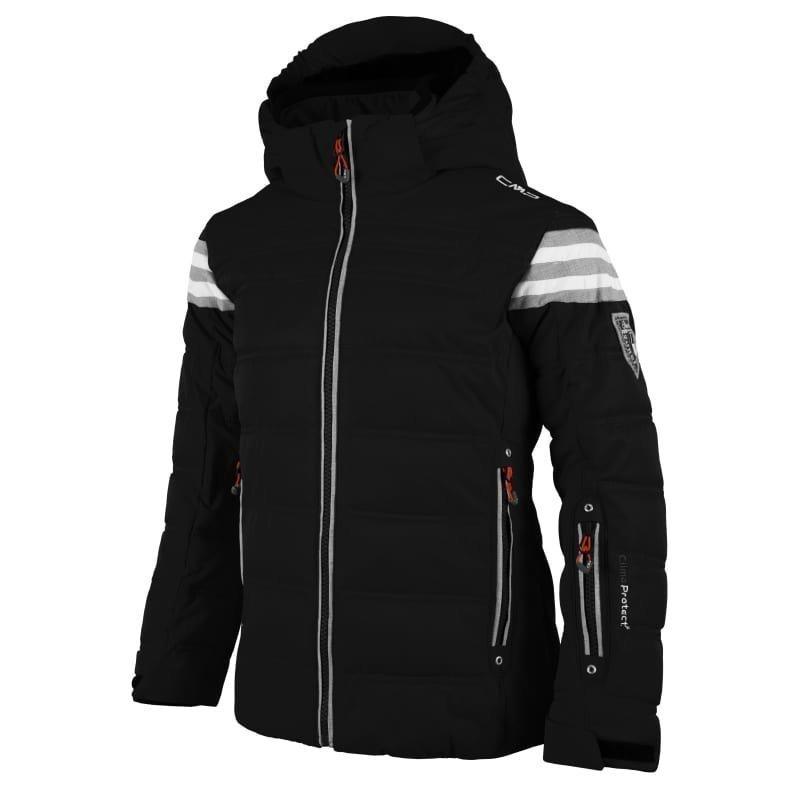 CMP Girl Champoluc Ski Jacket 116 Nero