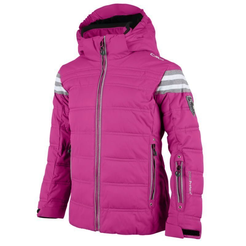 CMP Girl Champoluc Ski Jacket 128 Hot Pink