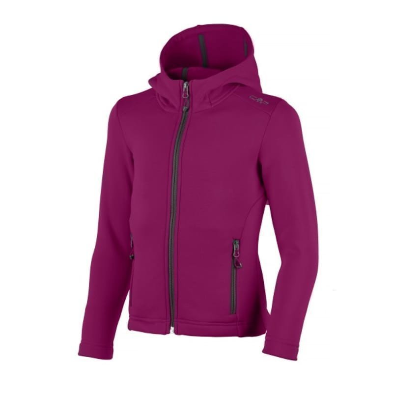 CMP Girl Moena Fleece Hood 140 Berry