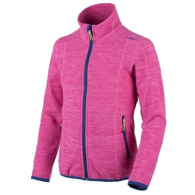 CMP Girl Sestriere Fleece Jacket 116 Hot Pink Mel.