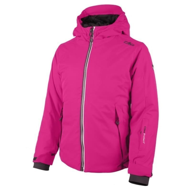 CMP Girl Val Di Fiemme Ski Jacket 128 Hot Pink