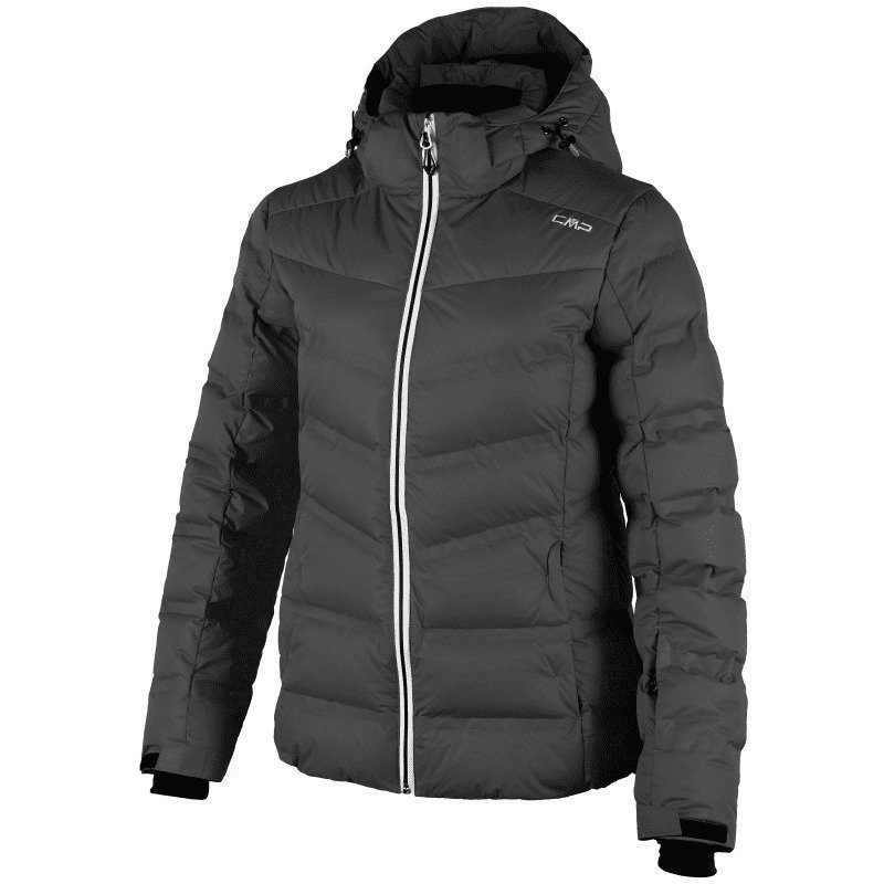 CMP Woman Arabba Down Ski Jacket D44 Nero
