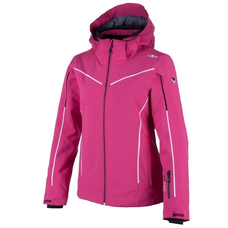 CMP Woman Courmayeur Ski Jacket D38 Geranio