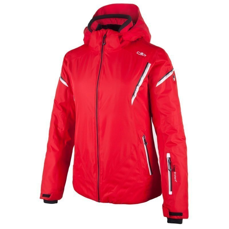 CMP Woman Livigno Ski Jacket D42 Ferrari