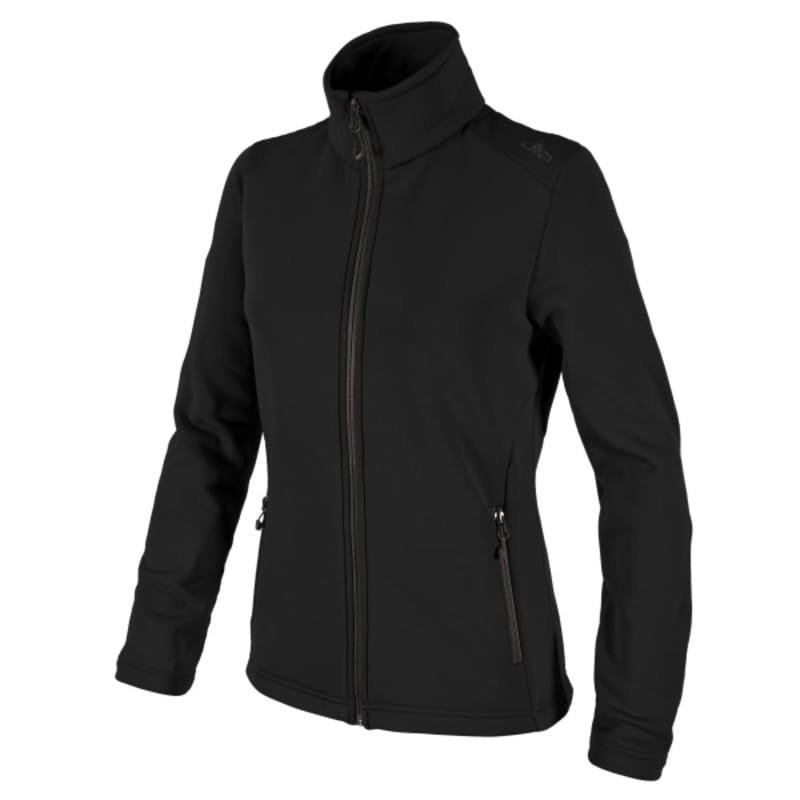 CMP Woman Moena Fleece Jacket D44 Nero